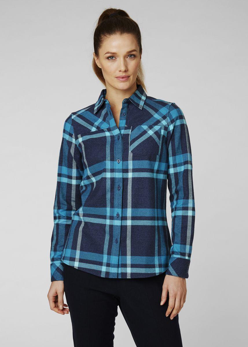 Рубашка Helly Hansen W Classic Check Ls Shirt