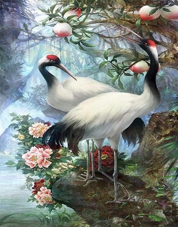 Про марину, красивые картинки с журавлями