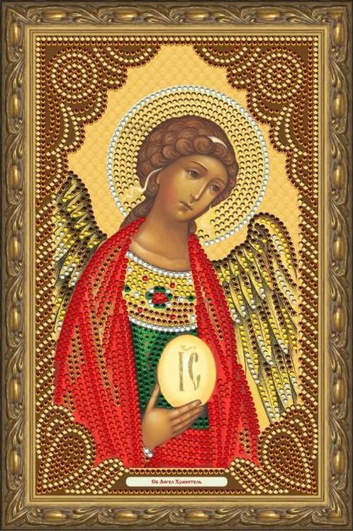 """Алмазная мозаика Color KIT """"Святой Ангел-Хранитель"""", 20x30 см"""