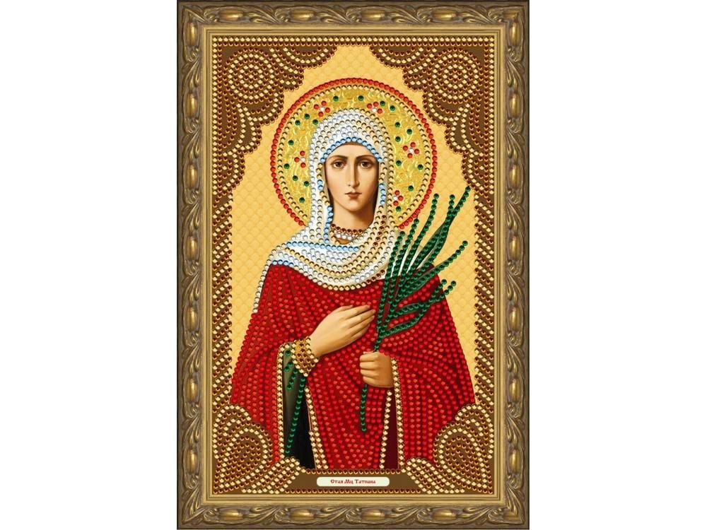 Алмазная мозаика Color KIT Святая Мученица Татьяна, 20x30 см икона юлия мученица