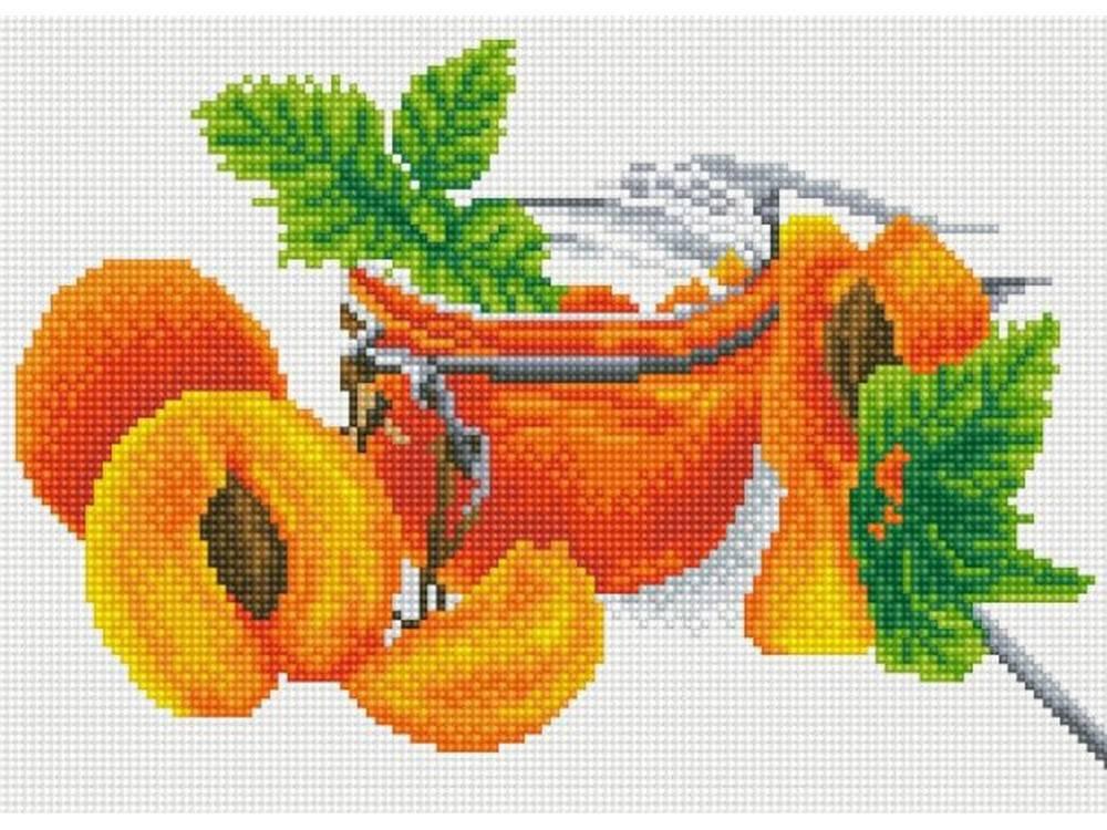 Алмазная мозаика ТМ Цветной Абрикосовое варенье, 30x40 см александр солженицын эго абрикосовое варенье все равно адлиг швенкиттен