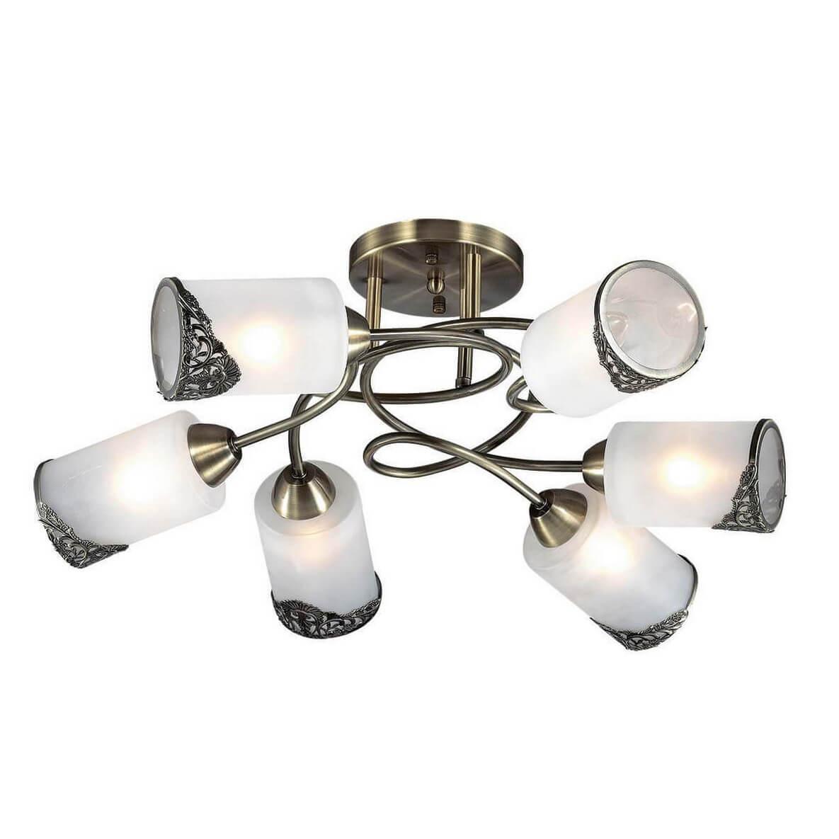 Потолочный светильник Lumion 3012/6C, E27, 40 Вт люстра lumion citadella 3012 6c