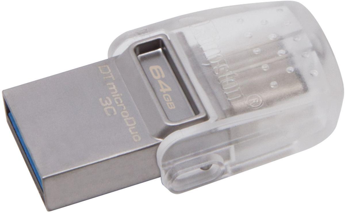 Флеш-накопитель USB 3.0 32GB Kingston microDuo 3C