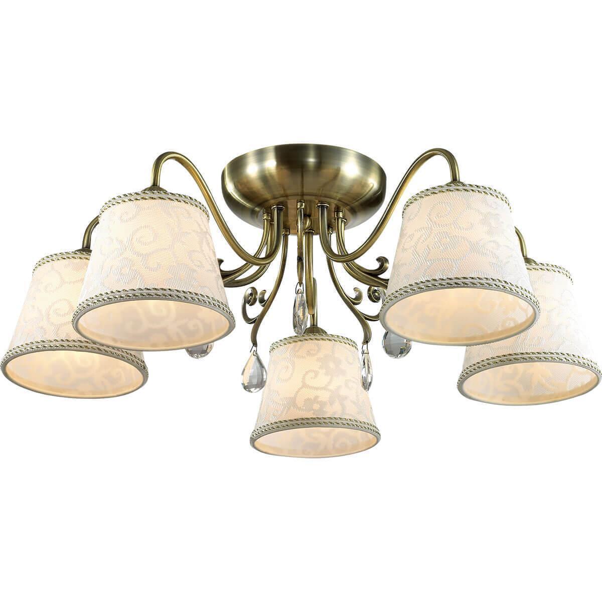 Потолочный светильник Odeon Light 2915/5C, E14, 40 Вт потолочная люстра odeon 3952 5c