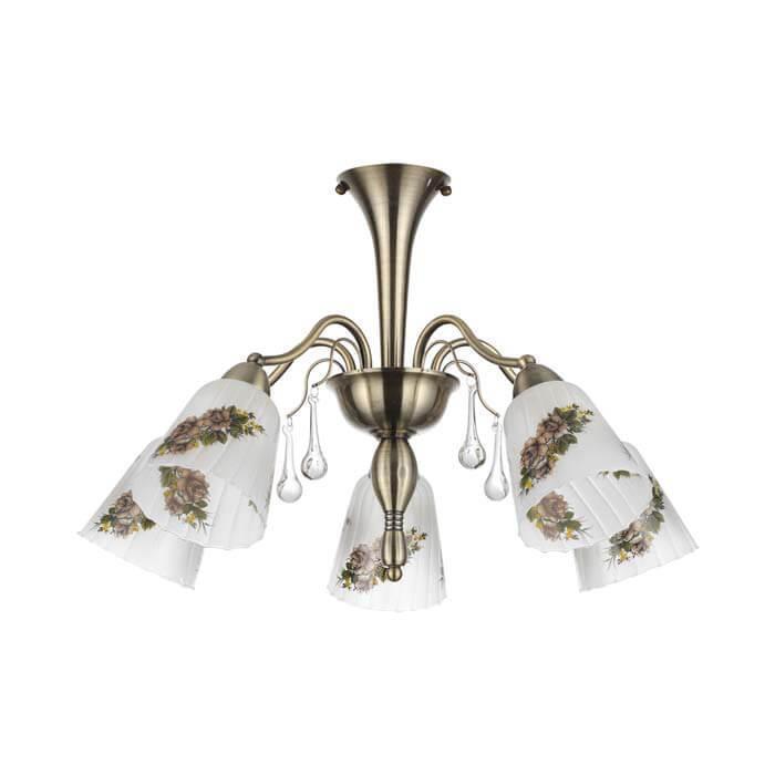 Потолочный светильник Lumion 3618/5C, E14, 60 Вт потолочная люстра lumion 3618 5c