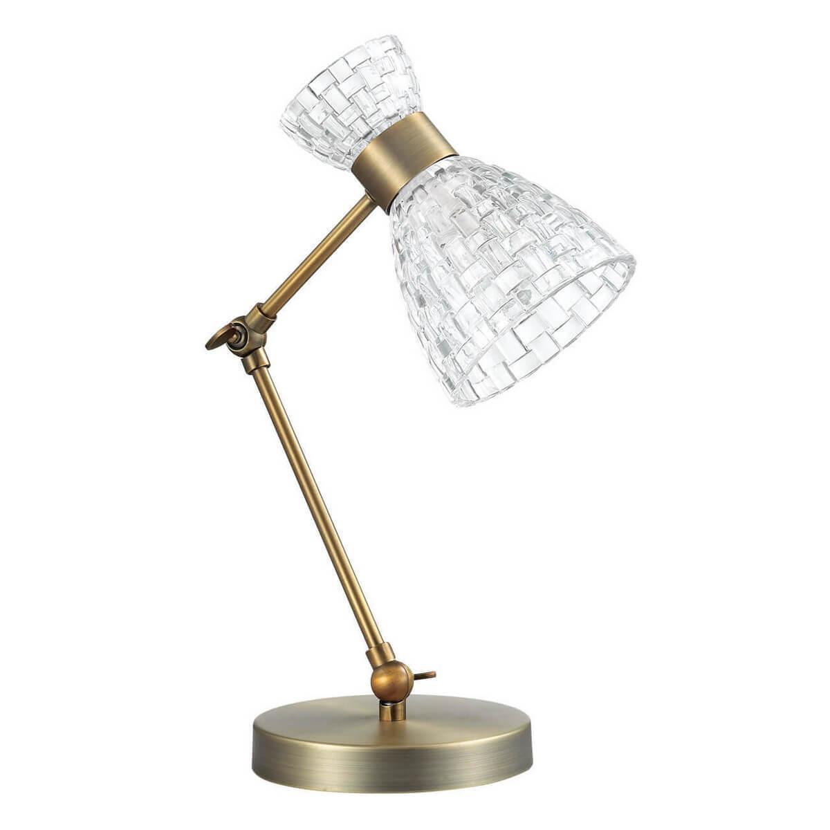 лучшая цена Настольный светильник Lumion 3704/1T, E14, 40 Вт