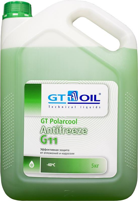 Антифриз GT Polarcool G11 (зеленый), 5 кг