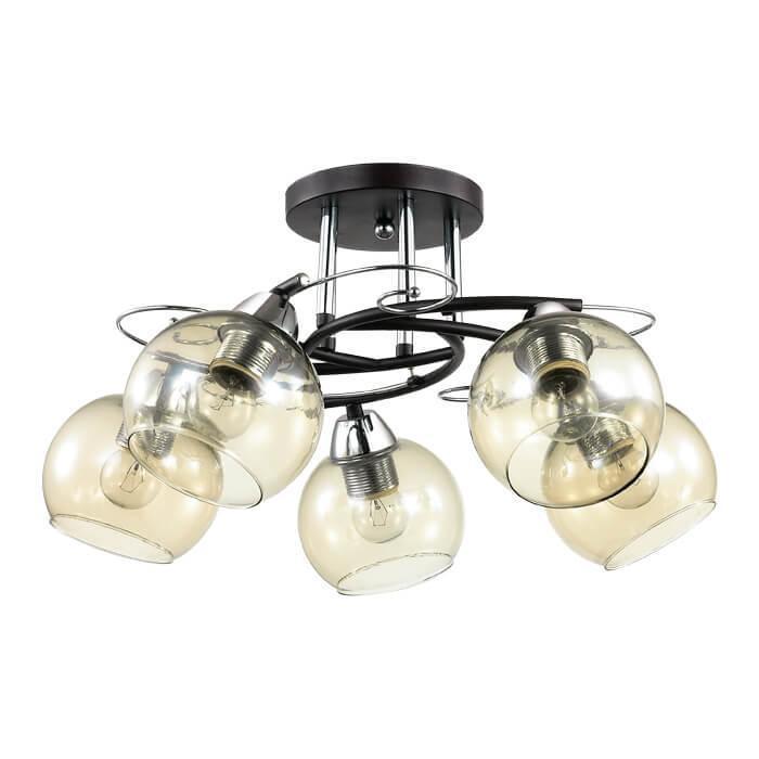 Фото - Потолочный светильник Lumion 3507/5C, E27, 60 Вт бра lumion melefa 3507 1w