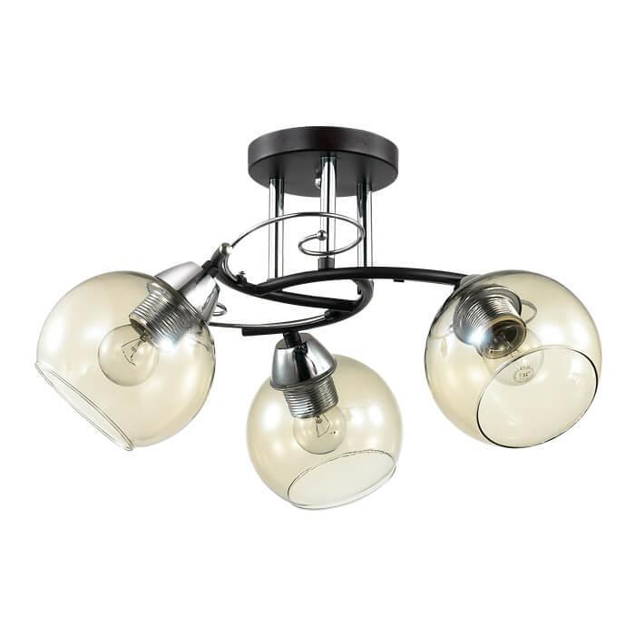 Потолочный светильник Lumion 3507/3C, E27, 60 Вт потолочный светильник lumion 4415 3c