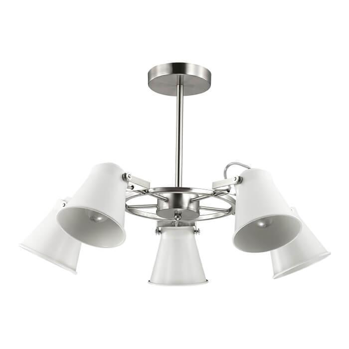 Потолочный светильник Lumion 3591/5C, E27, 60 Вт потолочная люстра lumion arudlis 3591 3c