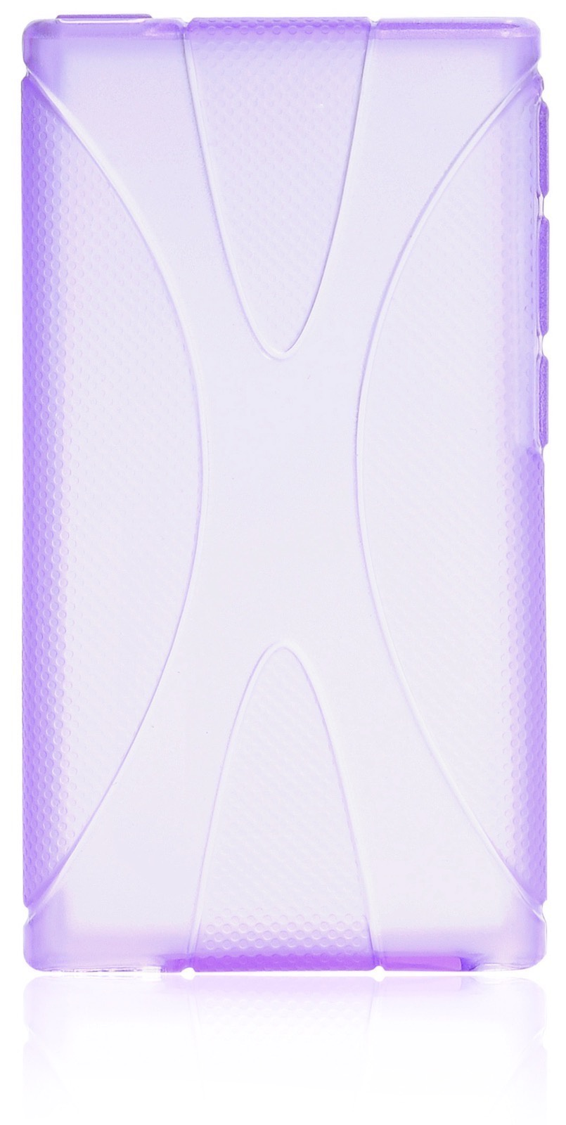 Чехол накладка Gurdini силикон Х для Apple iPod Nano 7,190044,фиолетовый видео для mp3 плеера