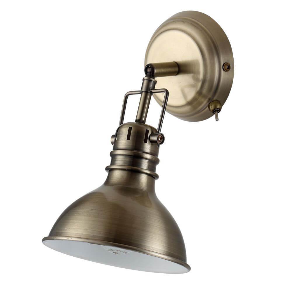 Спот Arte Lamp A1102AP-1AB, E14, 40 Вт