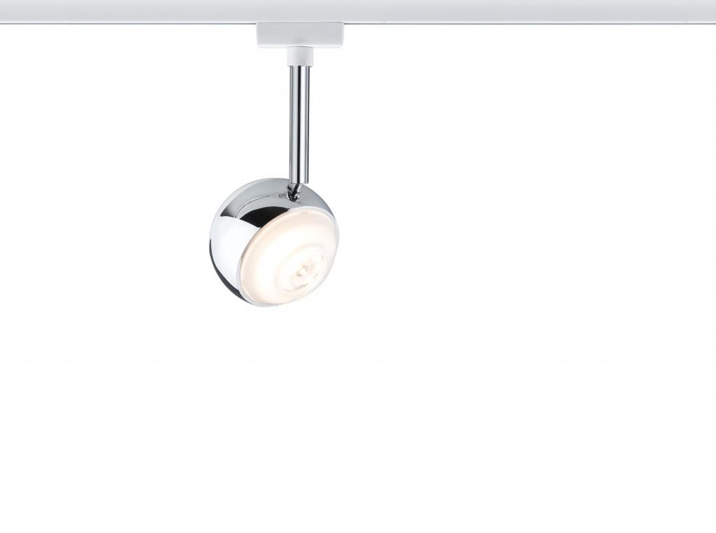 Светильник URail LED Spot CapsuleII 1x6W Ws/Chr dim трековый светодиодный светильник paulmann urail capsuleii 95457