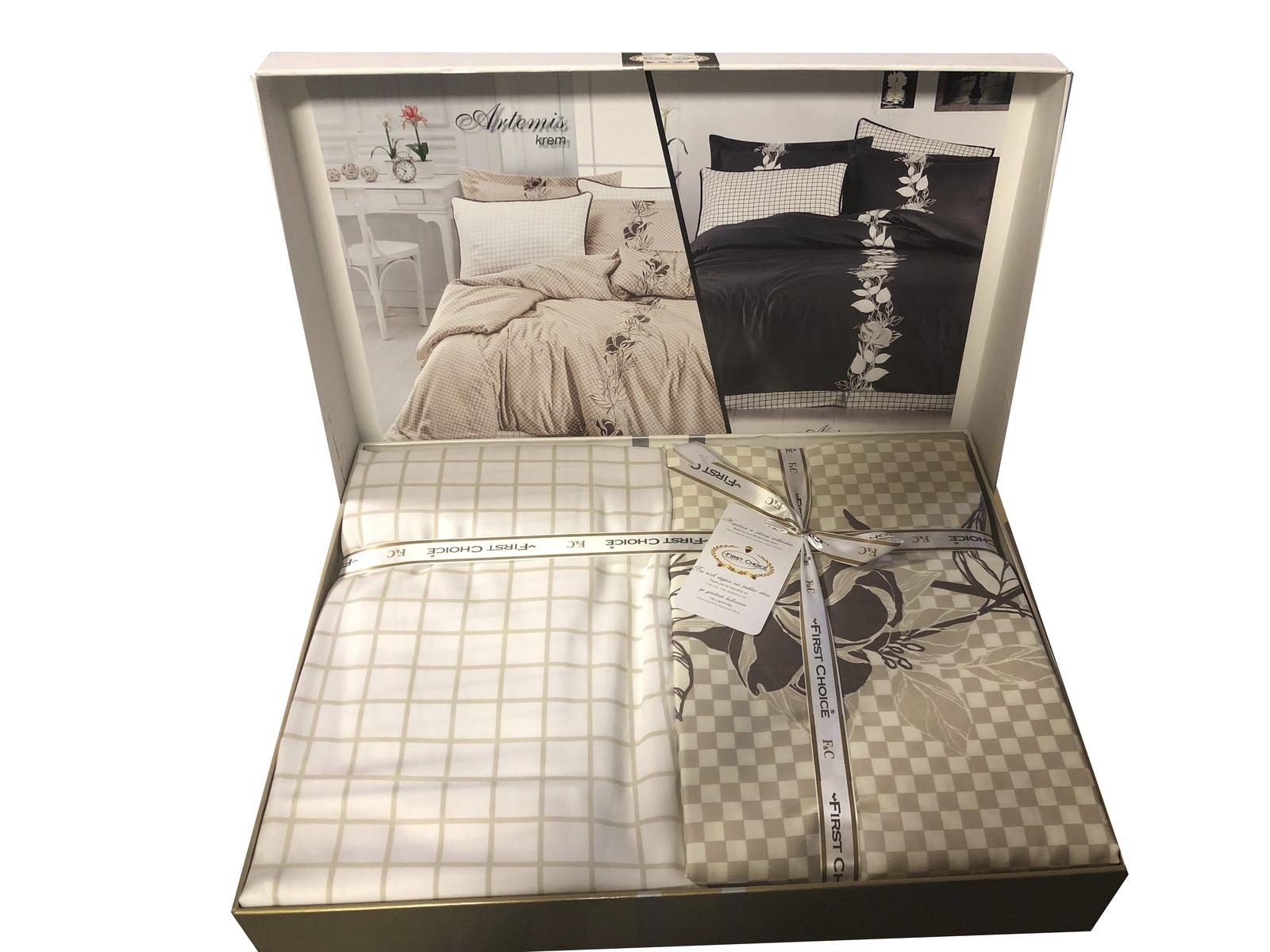Комплект постельного белья First Choice (хлопок, сатин) комплект постельного белья lou семейное сатин наволочки 50 х 70 2шт