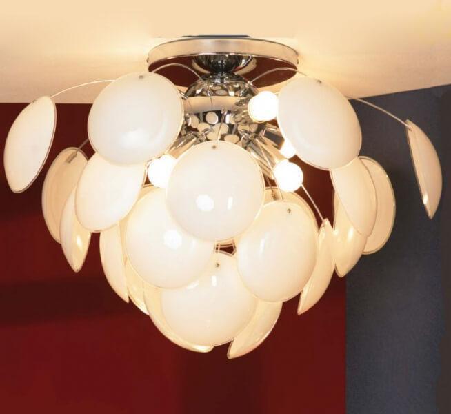 Потолочный светильник Lussole LSQ-4303-06, E27, 60 Вт цены