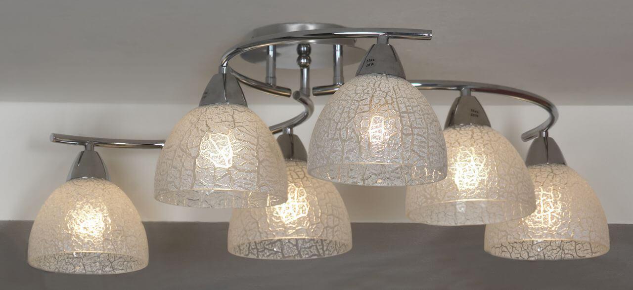 Потолочный светильник Lussole LSF-1603-06, E27, 60 Вт цены