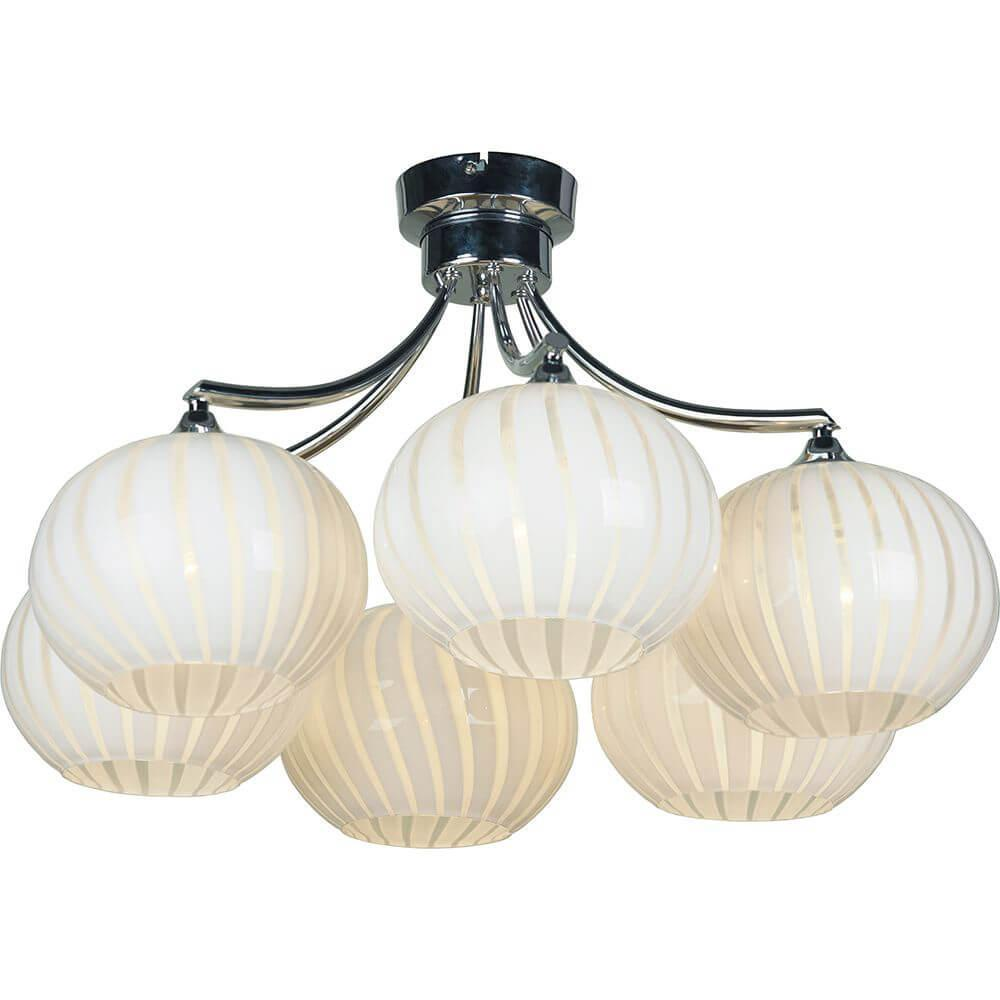 Потолочный светильник Lussole LSF-7203-06, E27, 60 Вт