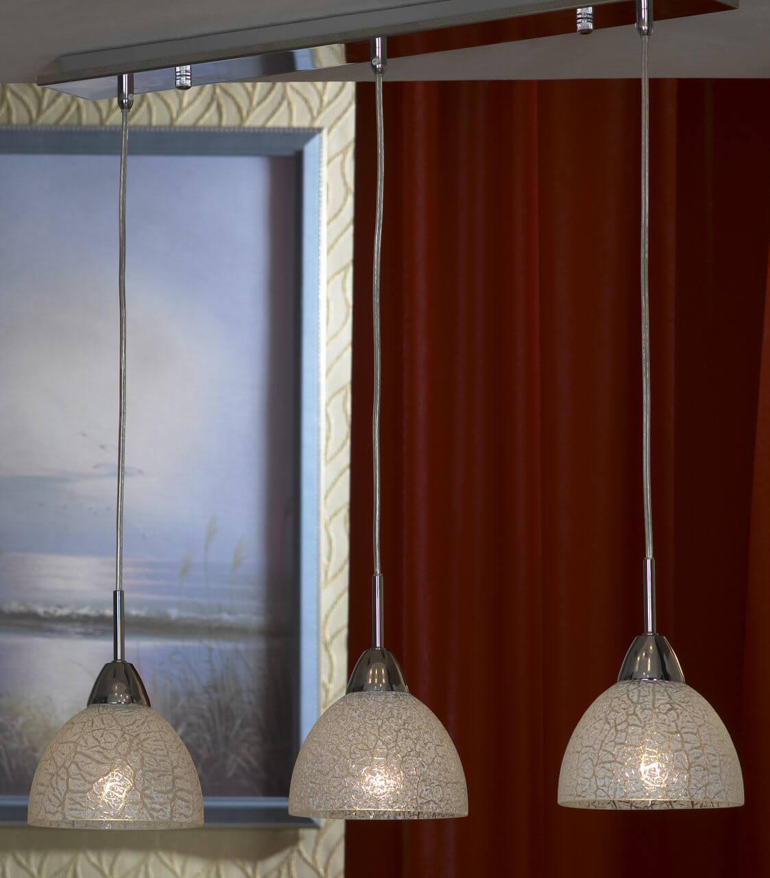 Подвесной светильник Lussole LSF-1606-03, E27, 60 Вт подвесной светильник lussole lsf 1156 01 e27 60 вт