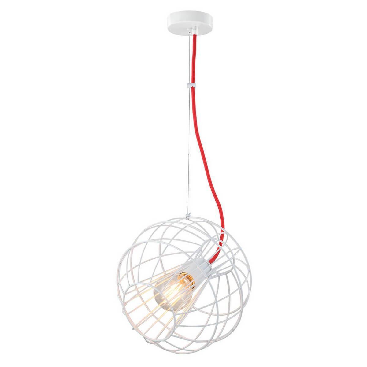 Подвесной светильник Lussole GRLSP-9932, E27, 11 Вт подвесной светильник lussole grlsp 9945 белый