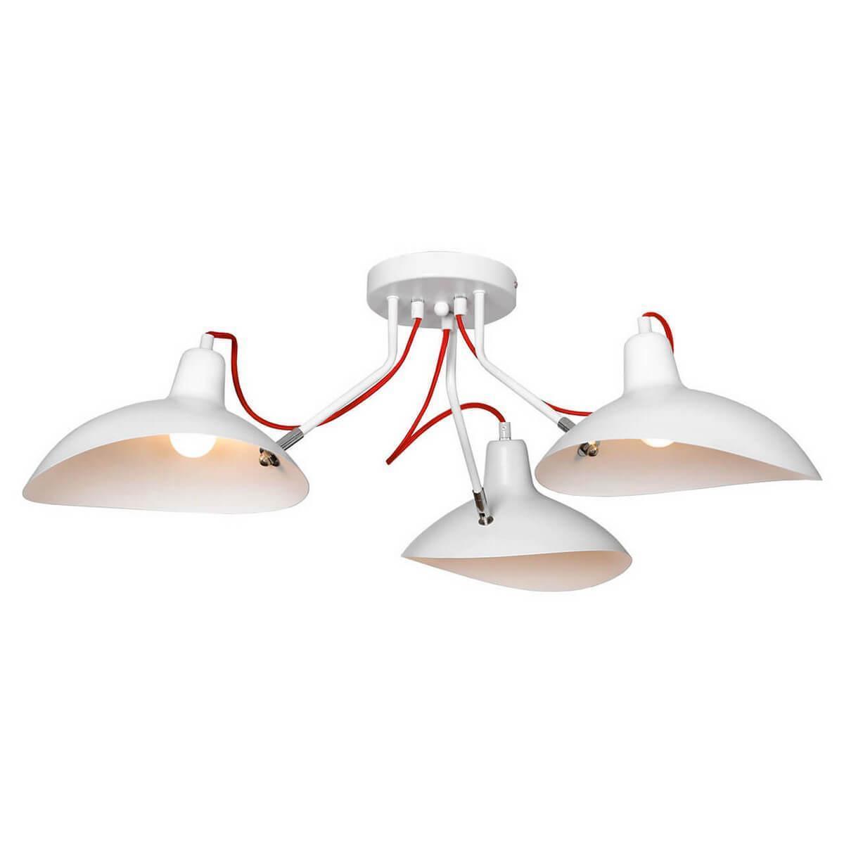 Потолочный светильник Lussole LOFT LSP-8126, E27, 40 Вт потолочная люстра lussole loft lsp 9704
