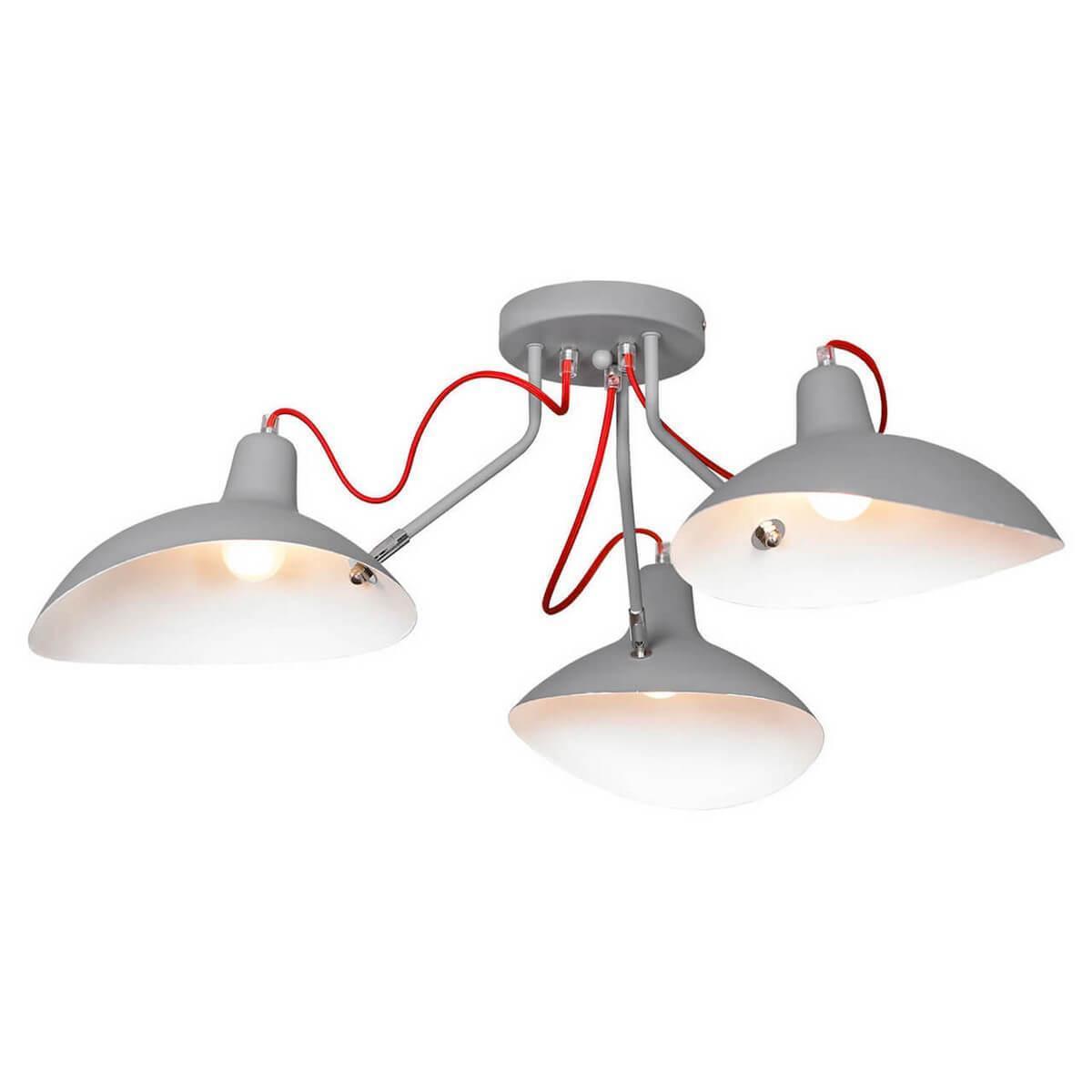 Потолочный светильник Lussole LOFT LSP-8128, E27, 40 Вт потолочная люстра lussole loft lsp 9937