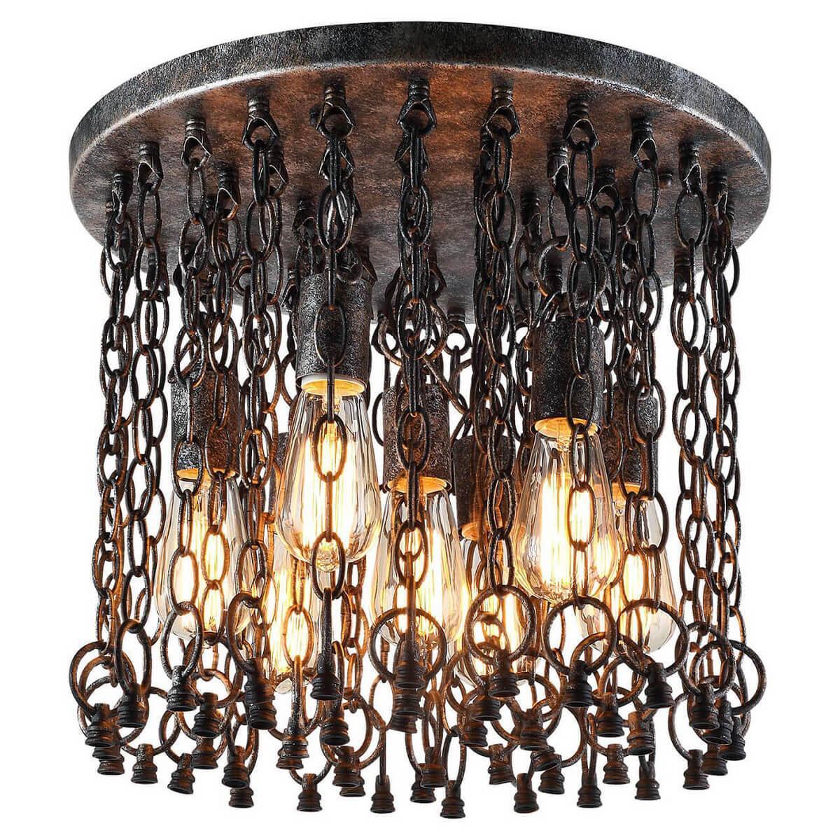 Фото - Потолочный светильник Lussole LOFT LSP-9800, E27, 60 Вт потолочная люстра lussole loft lsp 9800