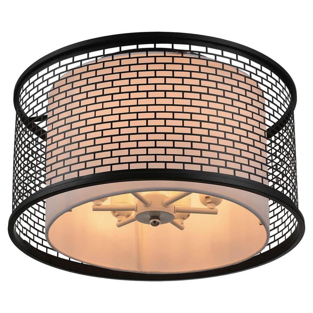 Потолочный светильник Lussole LOFT LSP-9676, E27, 60 Вт потолочная люстра lussole loft lsp 9937