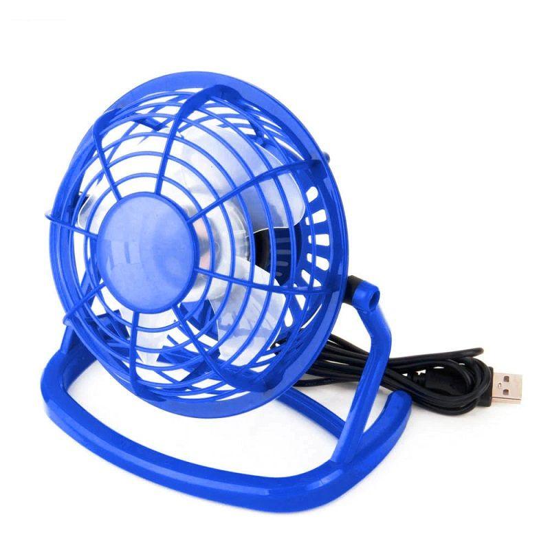 цена на Вентилятор Настольный Мини USB-вентилятор, синий