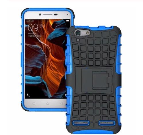 Чехол-бампер MyPads для Nokia lumia 530 Противоударный усиленный ударопрочный синий
