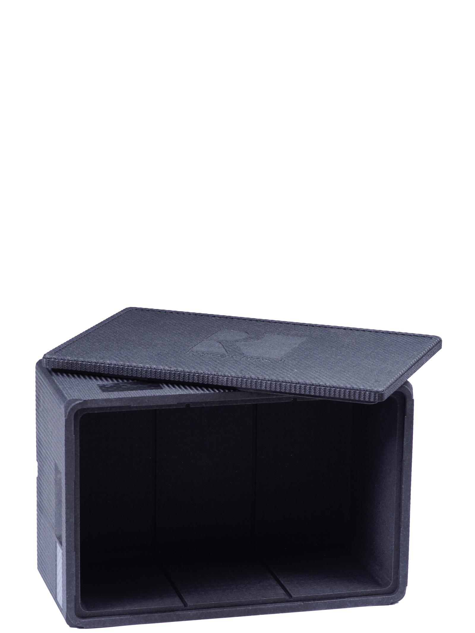 Изотермический контейнер Royal Box Unique черный, 42л
