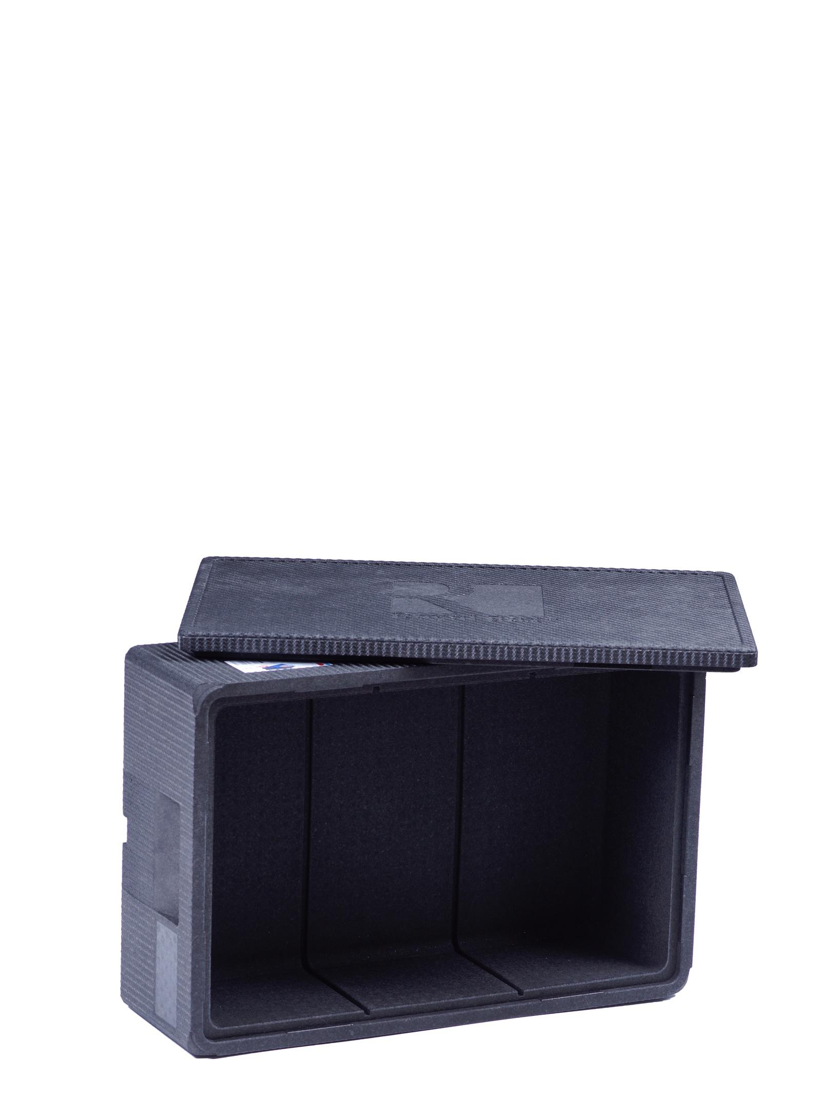 Изотермический контейнер Royal Box Unique черный, 32л