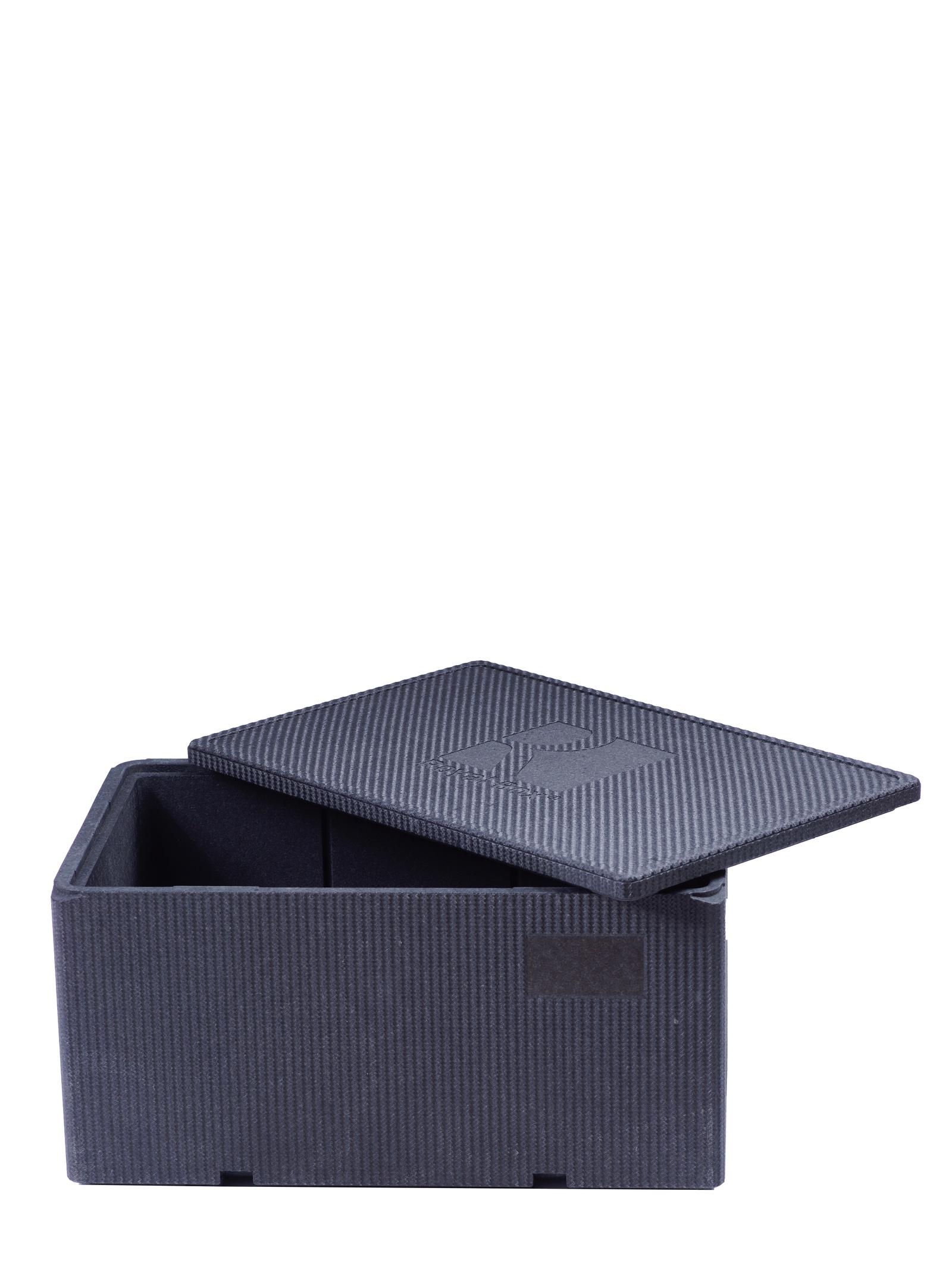 Изотермический контейнер Royal Box Unique черный, 57л