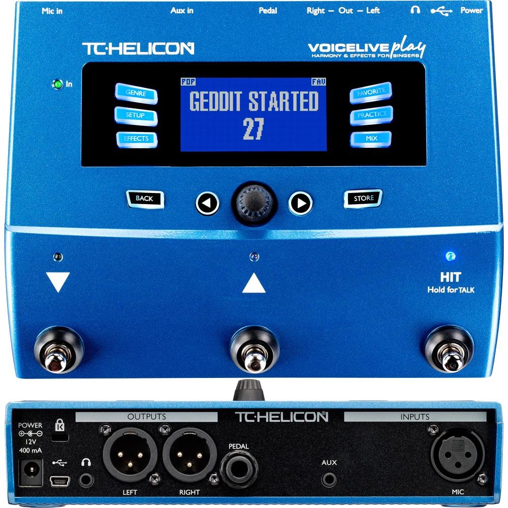 TC HELICON VoiceLive Playвокальный процессор эффектов Нет бренда
