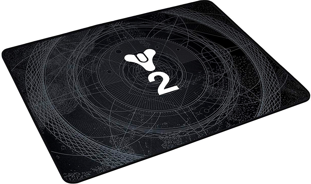 лучшая цена Коврик Razer Destiny 2 Goliathus - Soft Gaming Mouse Mat - Medium - Speed - FRML Packaging черный