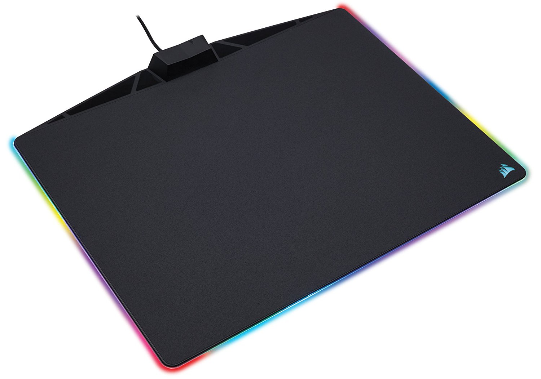 Коврик для мыши Corsair Gaming MM800 RGB POLARIS Mouse Pad (400mm x 340mm x 35mm) черный
