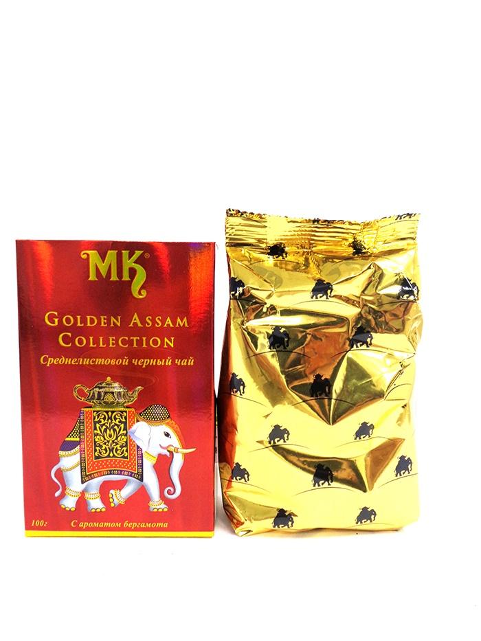 ГОЛДЕН АССАМ КОЛЛЕКШН,чай черный индийский EARL GREY среднелистовой 100 г касио коллекшн