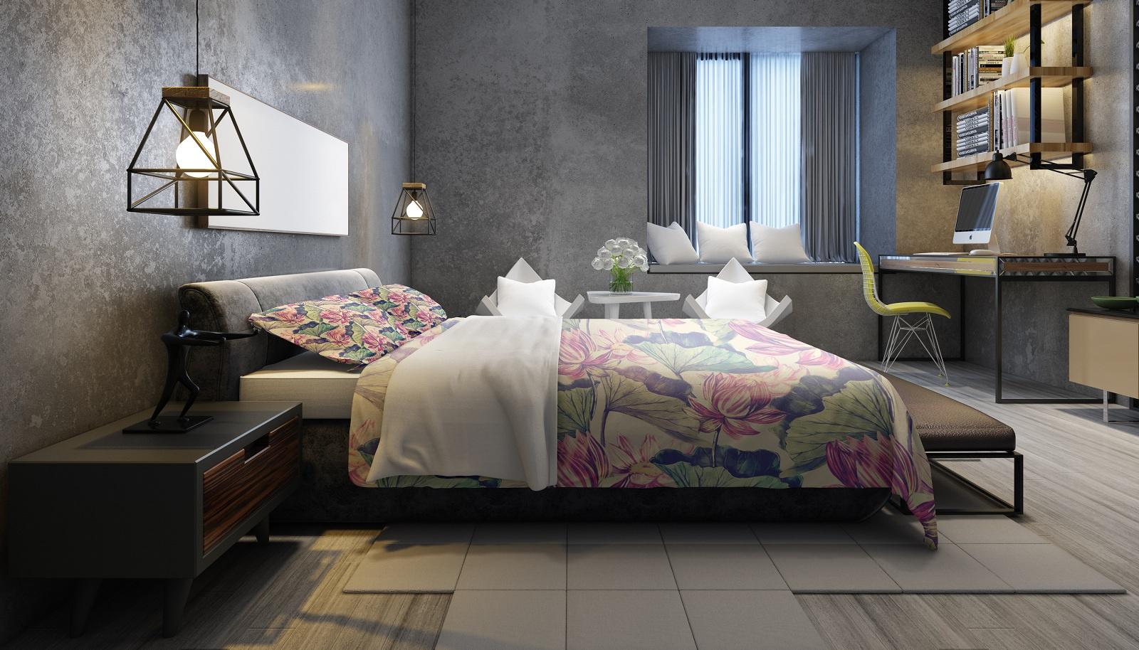 Комплект постельного белья Кувшинки, семейный пододеяльник коллекция котик бязь 1 5 спальный 150х210 см