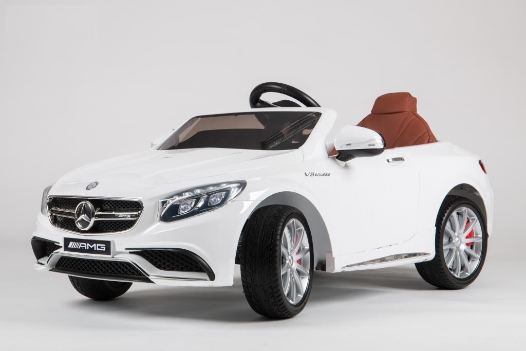 Электромобиль BARTY Mercedes-Benz S63 AMG (HL-169) белый