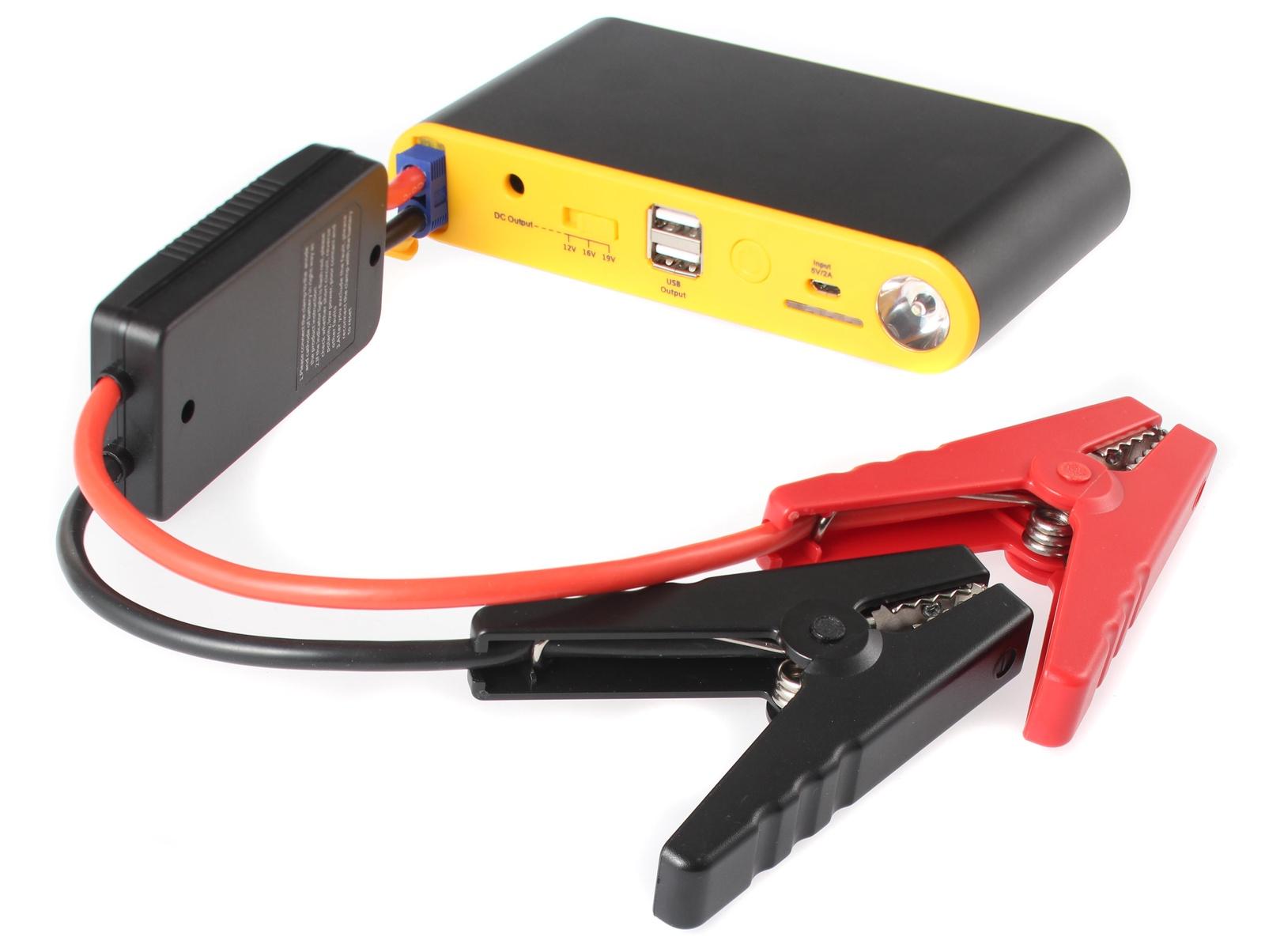 Портативное пусковое устройство автомобиля iBatt iB-S937. JumpStarter - PowerBank с интеллектуальными силовыми проводами. аккумулятор для автомобиля выбрать