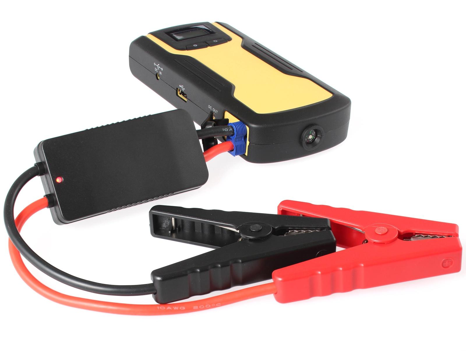 Портативное пусковое устройство автомобиля iBatt iB-S930. JumpStarter - PowerBank с интеллектуальными силовыми проводами. аккумулятор для автомобиля выбрать
