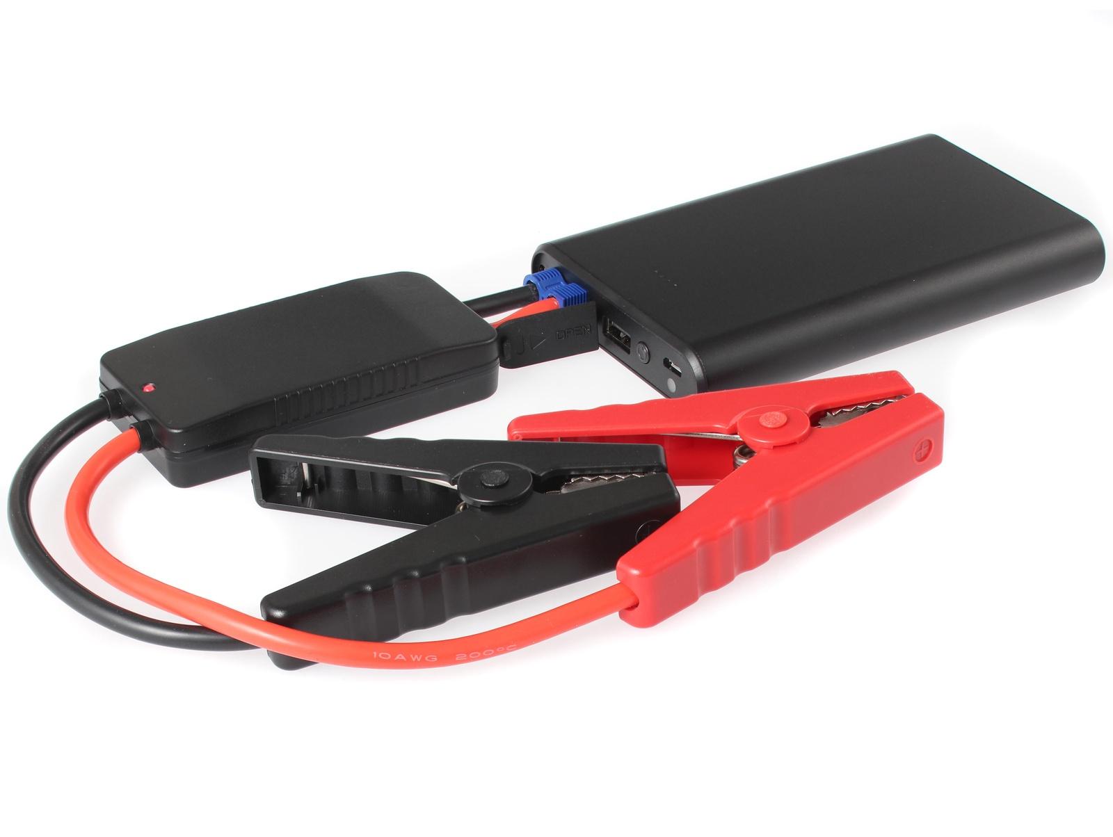 Портативное пусковое устройство автомобиля iBatt iB-S938B. JumpStarter - PowerBank с интеллектуальными силовыми проводами. аккумулятор для автомобиля 60 ампер цена
