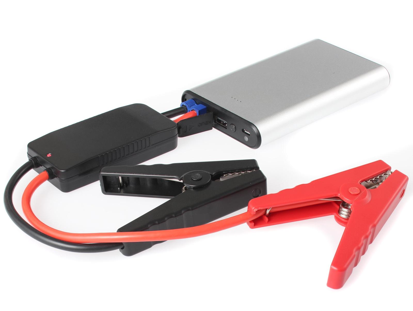 Портативное пусковое устройство автомобиля iBatt iB-S938S. JumpStarter - PowerBank с интеллектуальными силовыми проводами. аккумулятор для автомобиля 60 ампер цена