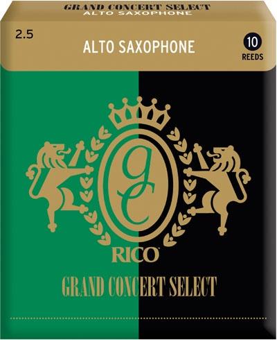 Трости для альт-саксофона Rico Grand Concert Select RGC10ASX250