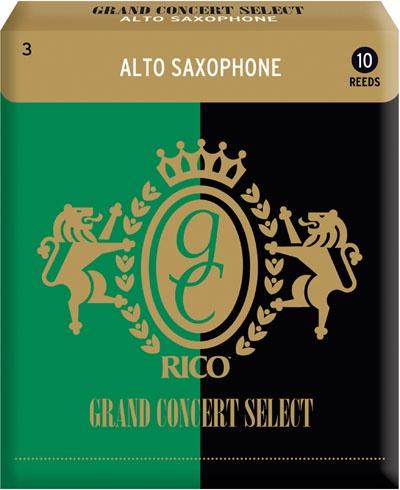 Трости для альт-саксофона Rico Grand Concert Select RGC10ASX300