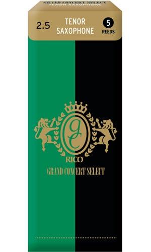Трости для тенор-саксофона Rico Grand Concert Select RGC05TSX250