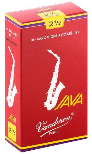 Трости для саксофона-альт Vandoren Java Red Cut SR2625R трости для саксофона альт vandoren java red cut sr262r