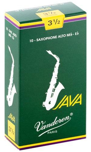 Трости для саксофона-альт Vandoren Java SR2635 трости для саксофона альт vandoren java red cut sr262r