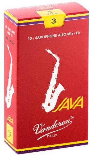 Трости для саксофона-альт Vandoren Java Red Cut SR263R трости для саксофона альт vandoren java red cut sr262r