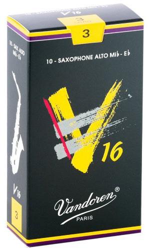 Трости для саксофона-альт Vandoren V16 SR703 трости для саксофона альт vandoren java red cut sr262r