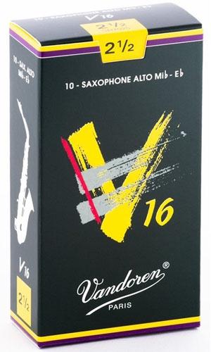 Трости для саксофона-альт Vandoren V16 SR7025 трости для саксофона альт vandoren java red cut sr262r